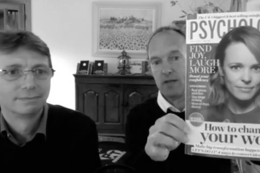 Facebook Live with Psychologies Magazine
